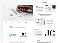 Personal brand - Case study webdesign ux ui branding brand portfolio case study
