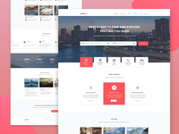 Listrace - Free Directory Template