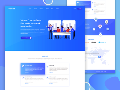 Agency Landing Page Exploration