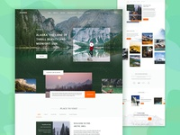 Alaska - Travel Destination Landing Page Exploration
