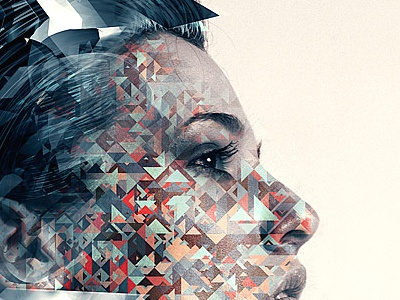 Geometrix photo manipulation generative art
