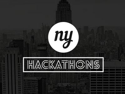 NY Hackathons Brand nyhackathons hackathon branding