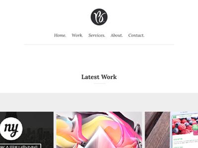 New Portfolio Rebrand portfolio redesign blackandwhite branding
