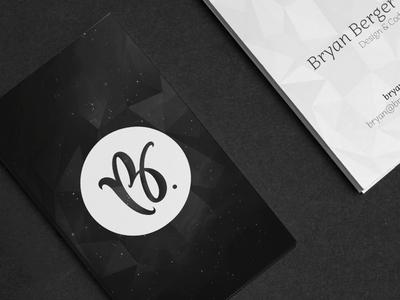 New Brand branding business card brand logo symbol personal brand personal mark mark