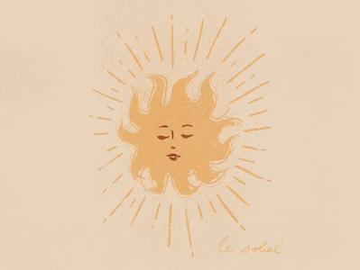 Le Soliel Illustration