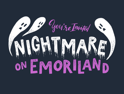 Nightmare on Emoriland Invitation