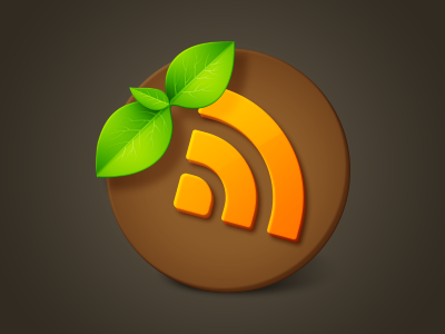 Earth Reader earth reader rss windows icon soil sprout desktop