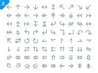 112 Arrow Icons