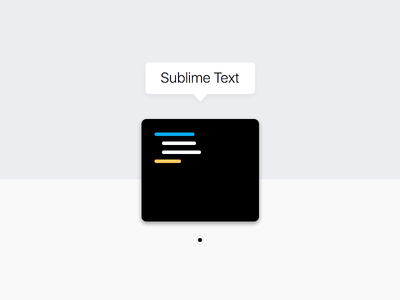 Sublime Text Icon - Dark dark freebies download clean launcher osx mac icon textediter sublime sublimetext