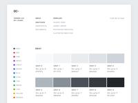 Open color website