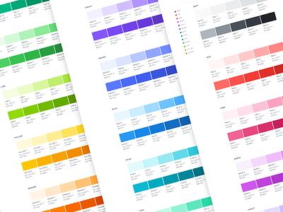 Open color swatches ui scheme swatches web colors color opencolor