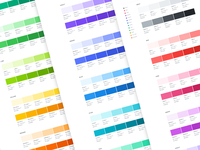 Open color swatches