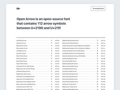 Open Arrow Website icon open web ui unicode glyph symbol arrow font