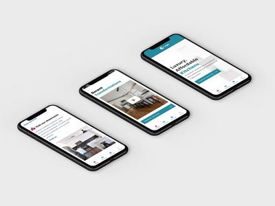 Mobile Kitchen Homepage