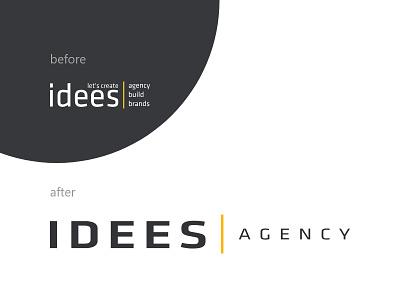 Новый логотип агентства Айдис positioning strategy identity фирменныйстиль новыйлоготип ребрендинг брендинг дизайн сделановайдис интересно айдис idees