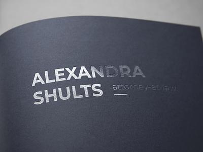 Персональный брендинг для адвоката Александры Шульц ilichev design логотип брендинг фирменныйстиль identity freelance designer creative дизайн