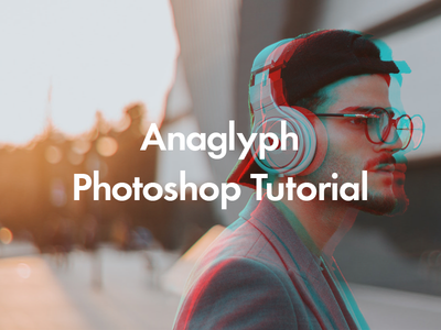 Anaglyph Photoshop Tutorial tutorial anaglyph photoshop typography graphic