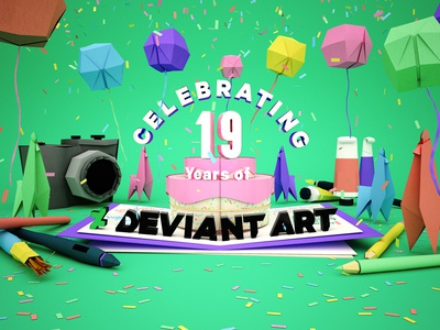 Celebrating 19 Years of DeviantArt!