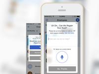 In-App Customer Survey