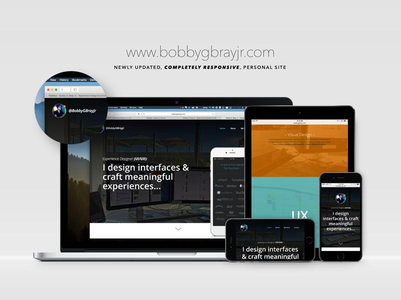 New site showcase presentation