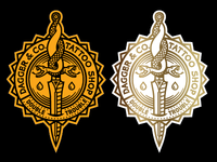 Dagger & Co. Badge