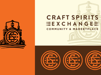 Craft spirits exchange board by chad michael