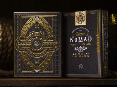 NoMad Playing Cards playing cards luxury gold eye hotel theory11 cards letterpress studio on fire ace joker
