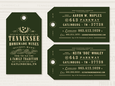 THW Business Cards hang tag card logo typography green design type business cards