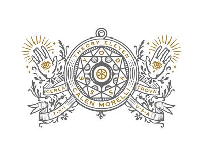 Odyssey geometric theory 11 trick magic foil eyes hands logo