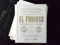El Furioso business cards