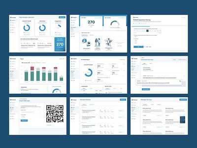 Learning Platform web ui ux website metrics metric survey learning app learning skill skills nps patients patient