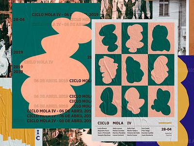 Ciclomola - Art exhibition print shape elements shapes shape event artwork event poster art poster art poster art