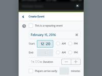Prosmart Create Event