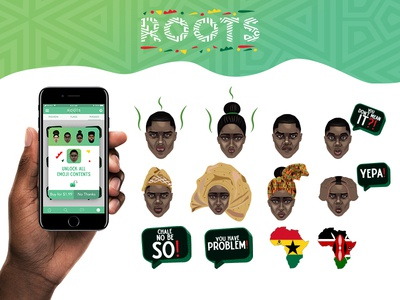 ROOTS Emoji Project | Contents