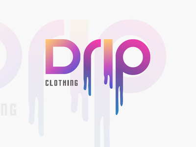 DRIP Clothing | Logo Design