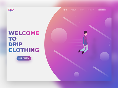 DRIP Clothing | Web Design