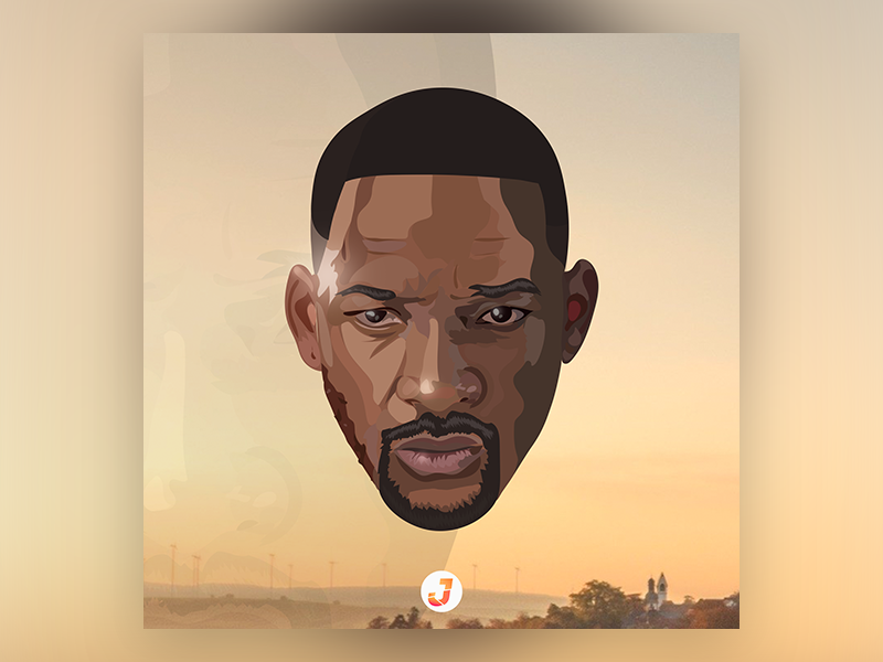 WILL SMITH | GEMINI MAN jerryubah character colors adobe logo artsy draw arts branding artlovers anime icon vector animation drawing artist design art illustration