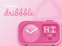 Time to dribbble