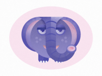 Nursery Animals - Elephant