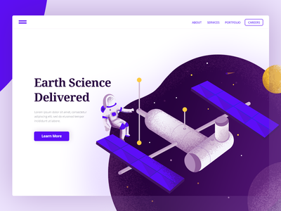 Earth Science Landing Page
