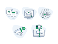 Science Website Icons