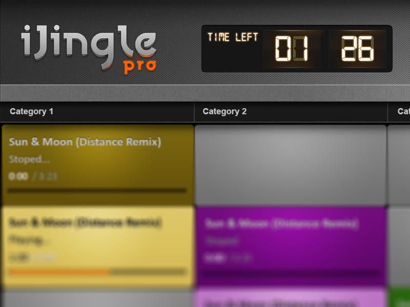 New iJjingle Logo ijingle logo app ipad application ios mac