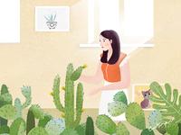 家庭主妇的日常生活 《养花篇》