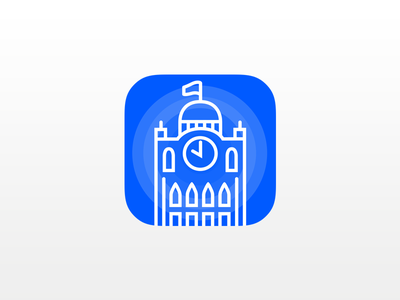 App Icon Tabriz Municipality - DailyUI #014 iran illustrator visual design hire me sketch line app icon icon tabriz