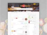 Restaurant Finder & Food Ordering website
