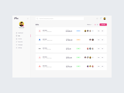 Extending Plex Dashboard cssninja app frontend template modern clean design ui dashboard bulma