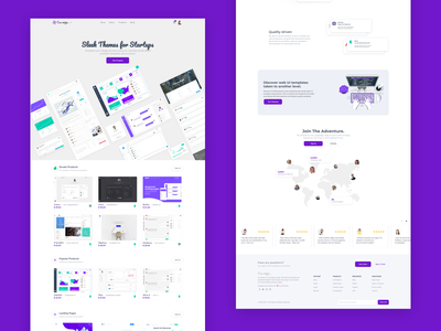 Css Ninja landing page website cssninja landing page illustration clean ui app design modern bulma