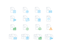 Accounting app icons