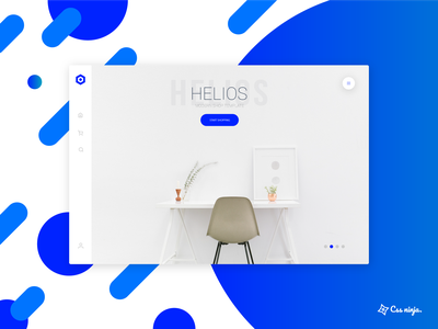 Ecommerce Frontend furniture contemporary clean modern helios website frontend ecommerce