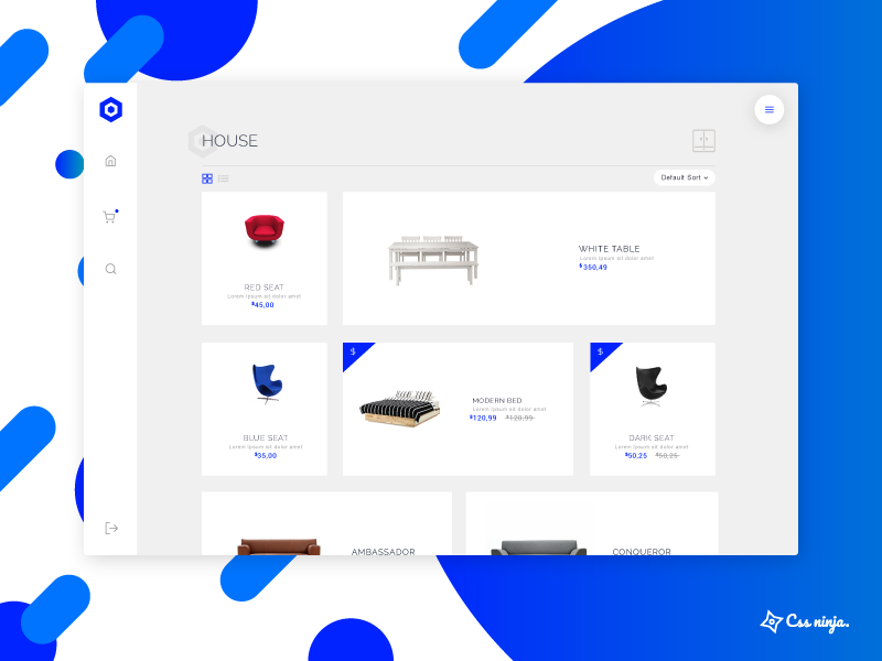 Helios is dead. Long life to Nephos ! template dashboard shop bulma frontend ecommerce